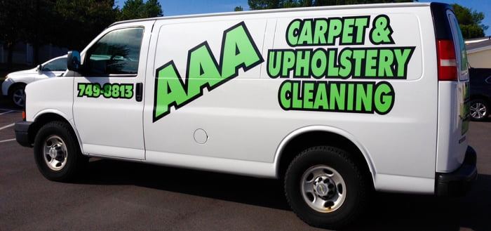 Carpet Upholstery Cleaning Truck Van